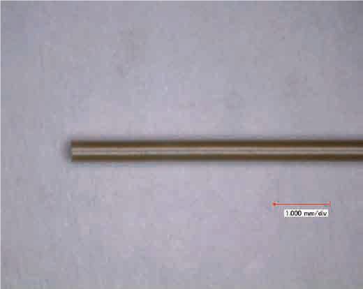picture: appearance of piezoelectric ceramic tube
