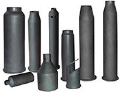 Picture of silicon carbide sample:burner cover