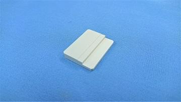 Picture of visible light shielding ceramic, block sample