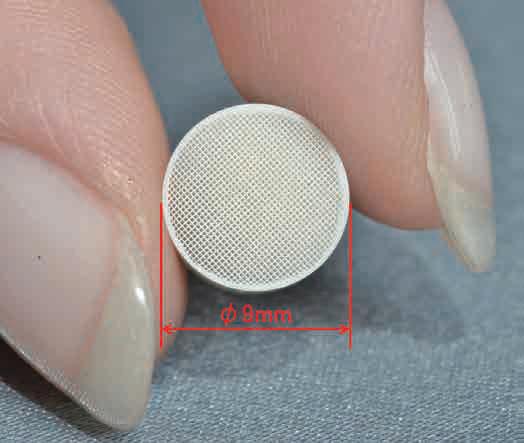マイクロハニカム成形品の写真(1)