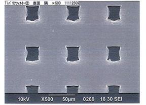 チタンマイクロメッシュ拡大写真(2)
